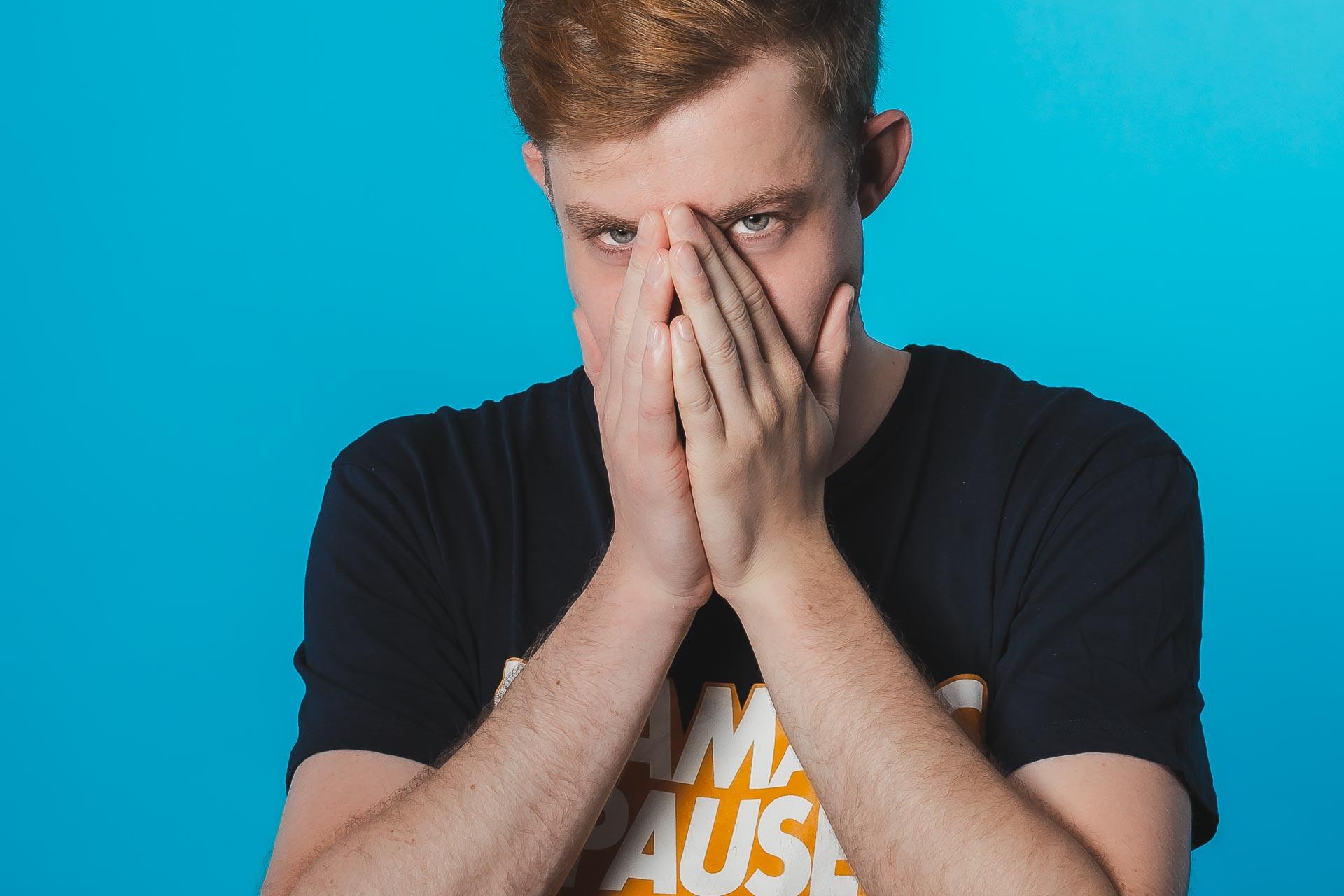 Männer Portraitshooting, Ginger