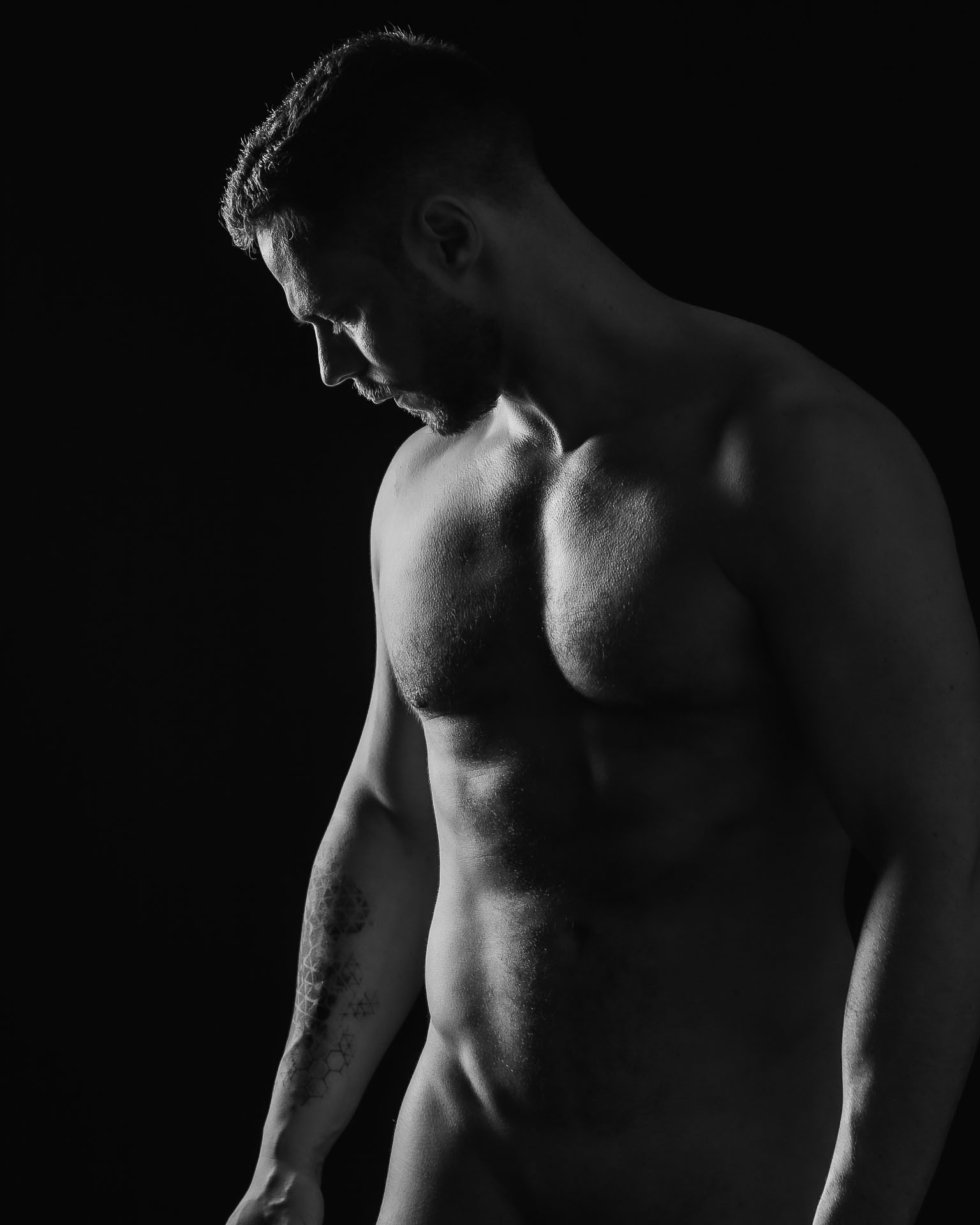 Männerfotografie, Aktshooting, Akt-Fotograf in Berlin für Männer