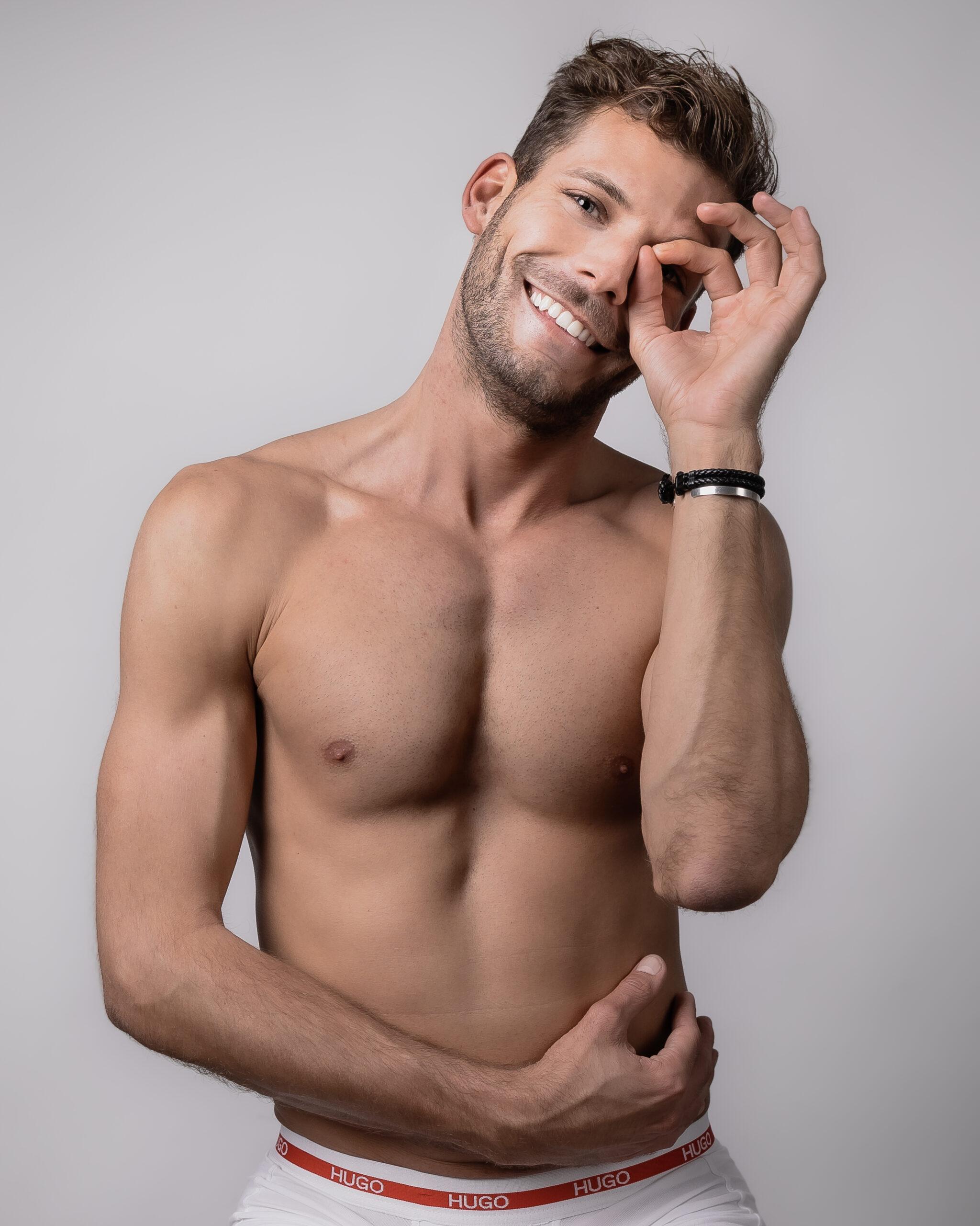 Männliche batthillblocfo: models junge Junge Männliche