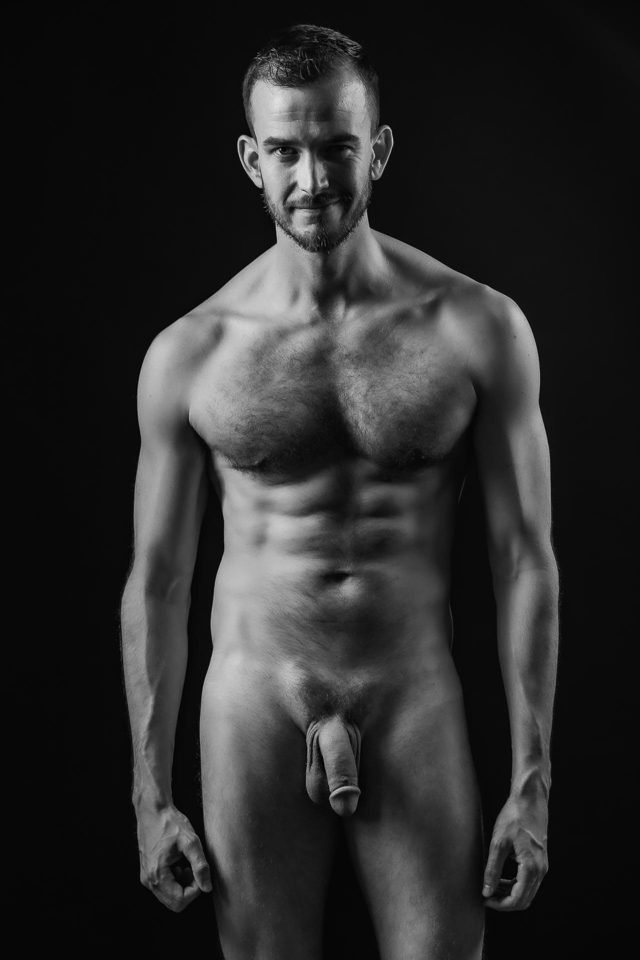 Männerakt-nackte Haut-Aktshooting-nackt-gay