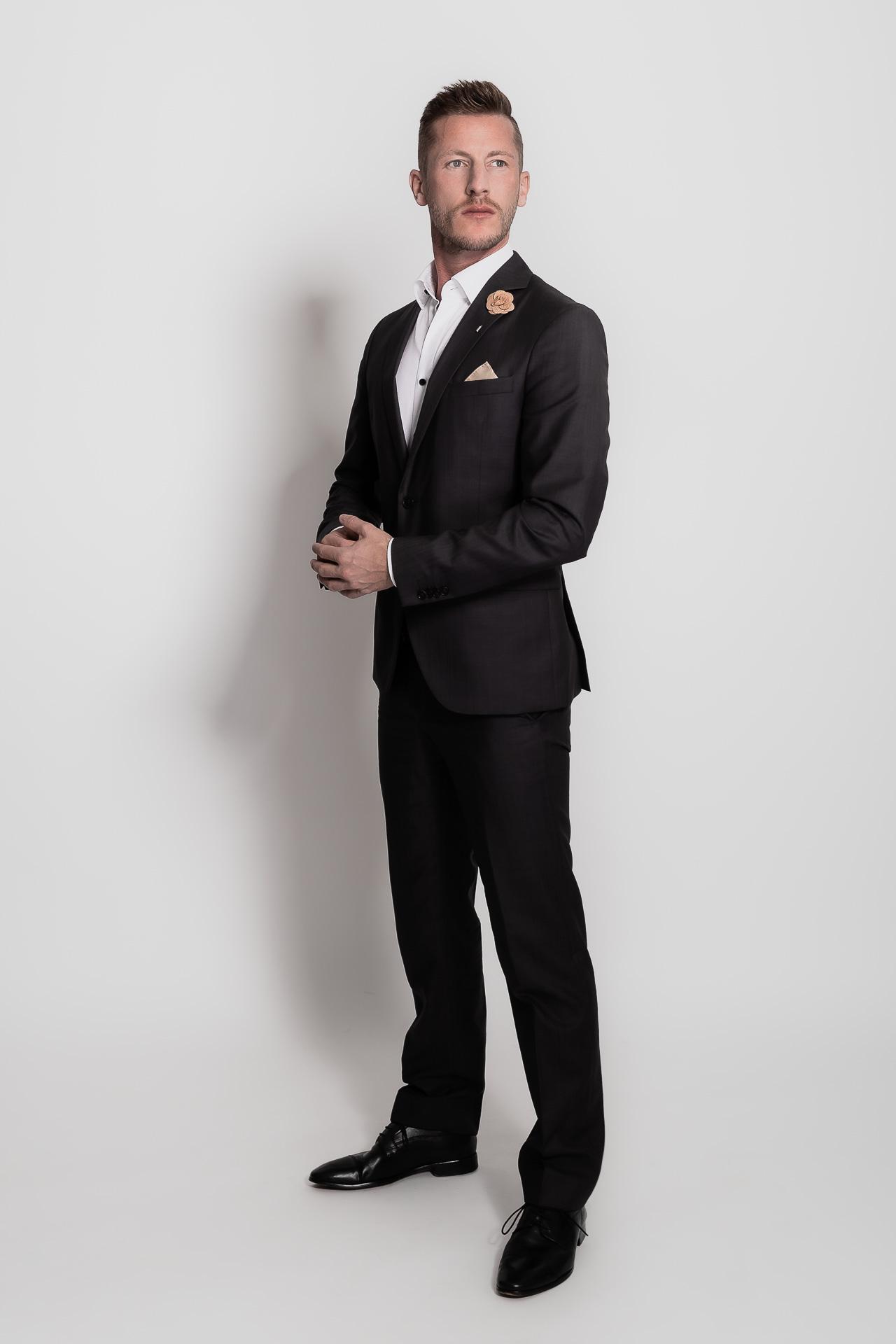 Männershooting, Mann im Anzug, sehr elegant